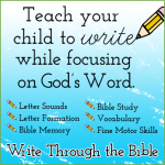 My first official review:  Write through the Bible JR.
