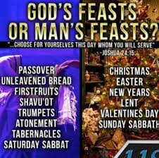 Feasts of YHVH, Holy Days vs. Holidays