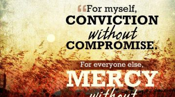 In the Spirit of Unity, letting mercy and compassion be our religion