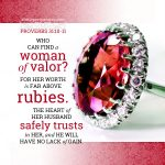 Finding Worth Above Jewels (Proverbs 31)