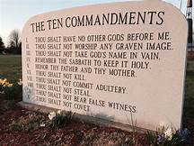 Following the Ten Commandments, is this still required?