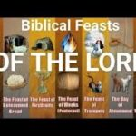 Biblical Feasts of Yehovah (NOT JEWISH HOLIDAYS)