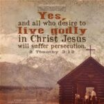 Persecution vs. Prosecution (where is the line as a believer?)