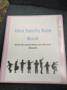 Chores, Jobs, Serving at Home (Rule Book post 4)